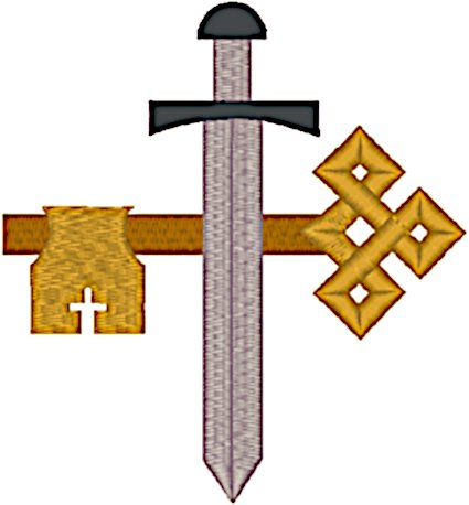 St. James Cross #3 Embroidery Design
