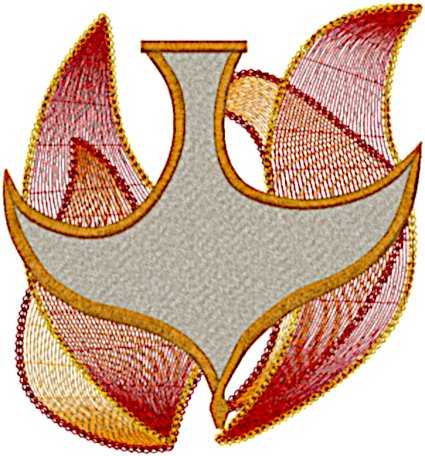 Christian Holy Spirit #8 Embroidery Design