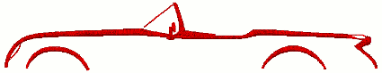 Corvette C1 Generation Outline Embroidery Design