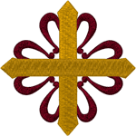 Iberian Cross Embroidery Design