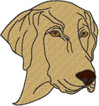 Labrador Retriever #2 Embroidery Design
