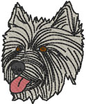 West Highland White Terrier Embroidery Design