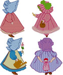 Sunbonnet Sue Collection Embroidery Design