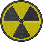 Radioactive! Embroidery Design