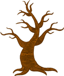 Old Dead Tree Embroidery Design