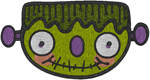 Frankenstein's Monster Embroidery Design
