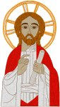 Jesus Icon 1 Embroidery Design