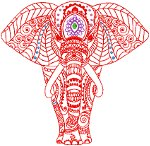 Ganesha Embroidery Design