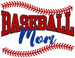 Baseball Mom #2 Embroidery Design
