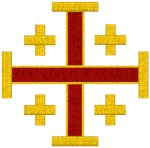 Jerusalem Cross #6 Embroidery Design