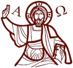 Christ Pantocrator Embroidery Design