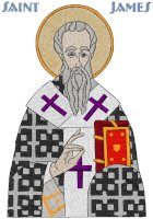 St. James the Apostle Icon Embroidery Design