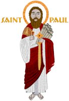 Mega St. Paul Icon Embroidery Design