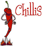 Machine Embroidery Designs: Chillis