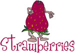 Machine Embroidery Designs: Strawberries