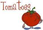 Machine Embroidery Designs: Tomatoes