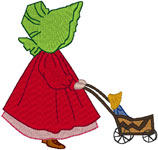 Machine Embroidery Designs: Sunbonnet Sue 10