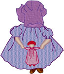 Machine Embroidery Designs: Sunbonnet Sue 5