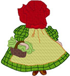 Machine Embroidery Designs: Sunbonnet Sue 6