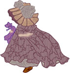 Machine Embroidery Designs: Sunbonnet Sue 8