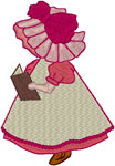 Machine Embroidery Designs: Sunbonnet Sue 9